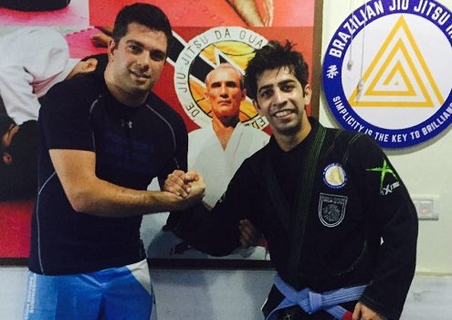 Ariel Katz from Israel visits BJJ India