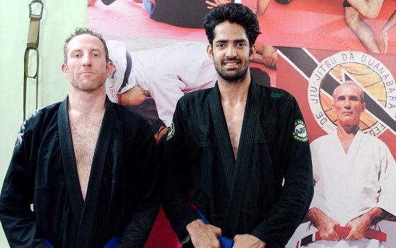 Edward from UK visits BJJ India