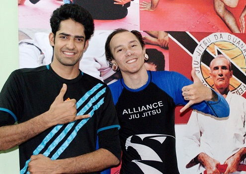 Ryan from Brazil visits BJJ India