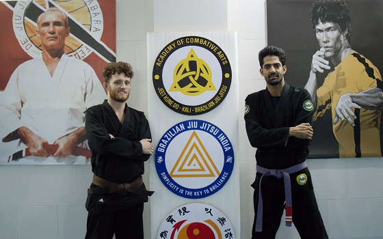 Carl from UK visits BJJ India