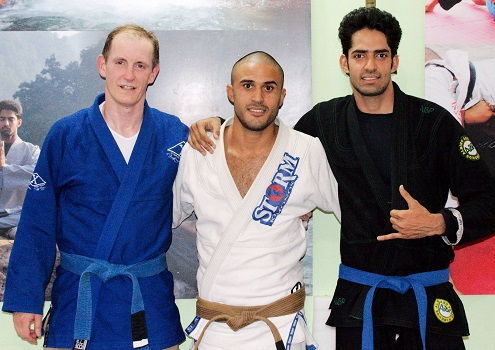 Eduardo Bezerra from Brazil visits BJJ India