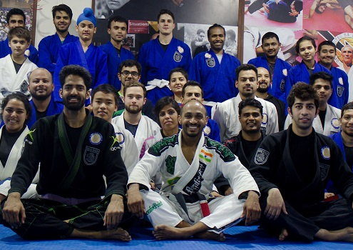 Professor George Mathai visits BJJ India