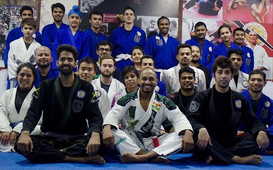 Professor George Mathai visits BJJ India