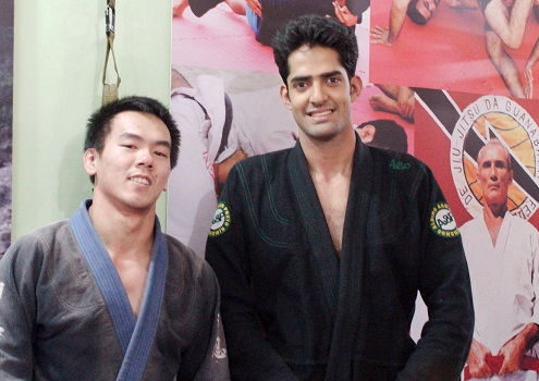 Gian Dee from Phillippines visits BJJ India