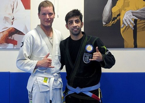 Jake from USA visits BJJ India