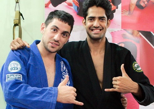 Jonatthan from Australia visits BJJ India