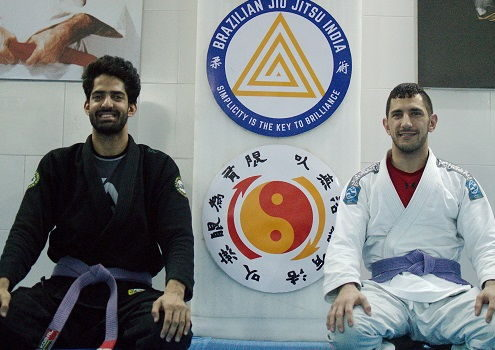 Miguel from UK visits BJJ India