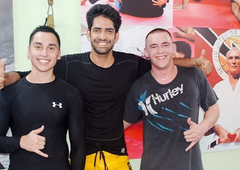 Tommy from USA visits BJJ India