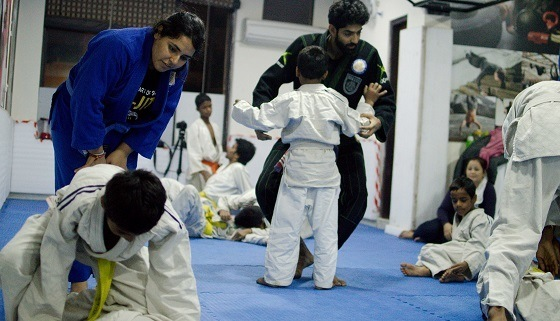 bjj-delhi-kids-training
