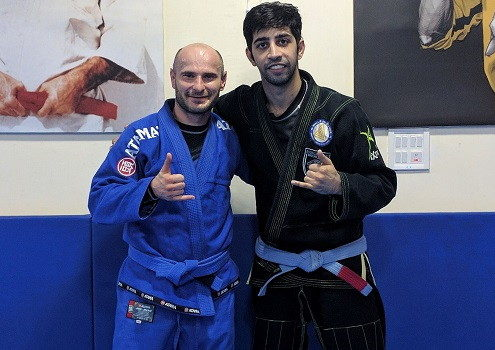 BJJ India Visit by Leszek