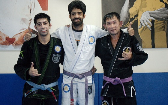 BJJ India Yasutake Kamiya visit from Japan