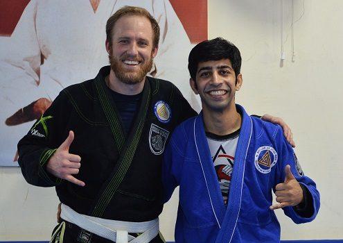 Brandon BJJ India Visit