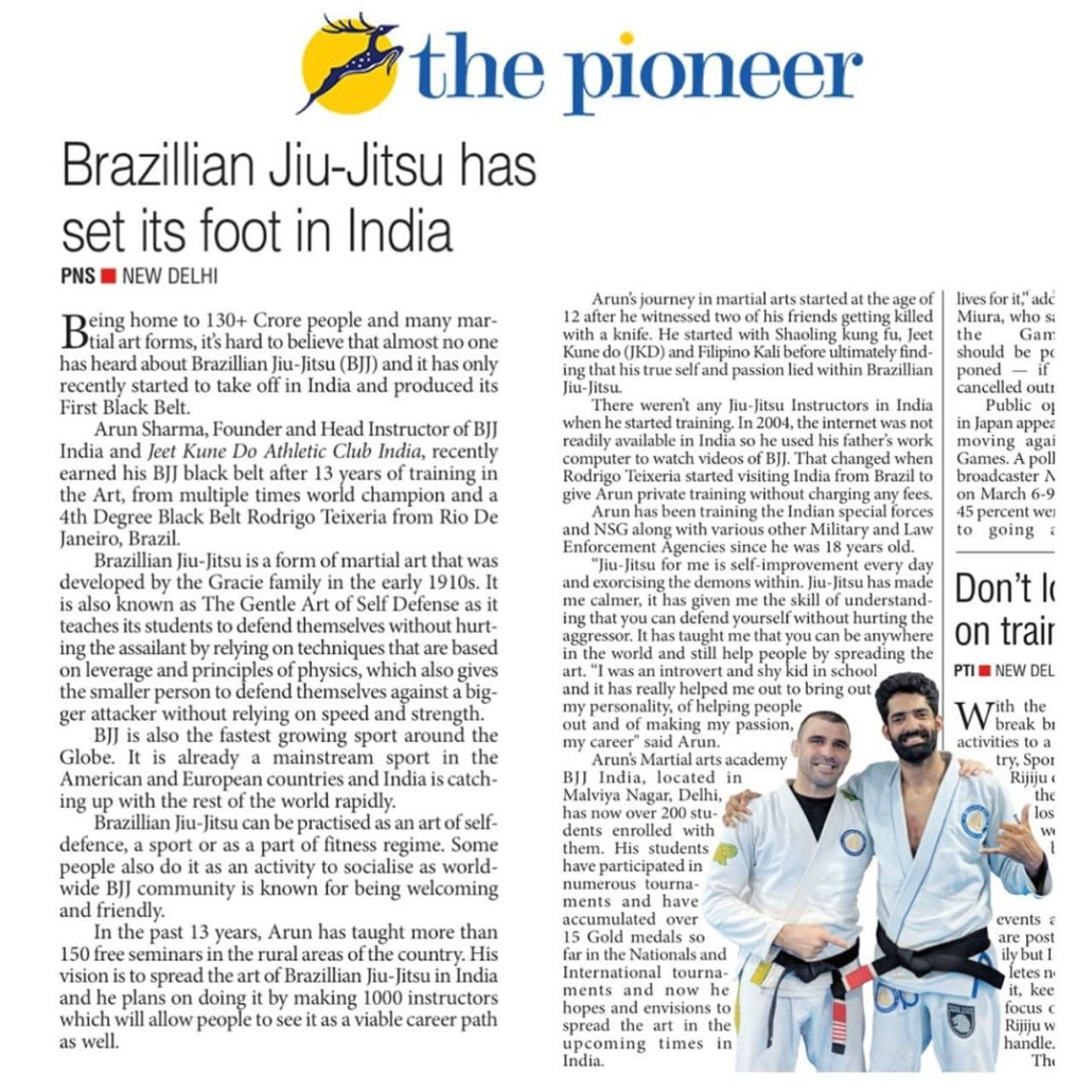The-Pioneer-Newspaper-BJJ-India
